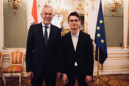 Dr. Alexander Van der Bellen - Bundespräsident der Republik Österreich