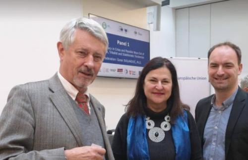 Friedhelm Frischenschlager - Verteidigungsminister a. D. Katerina Mathernova Deputy Director-General European Commission