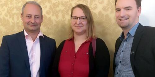 MEP Andreas Schieder - VIEGO Präsidentin Kati Schneeberger