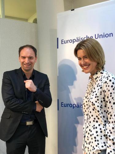 MEP Claudia Gamon