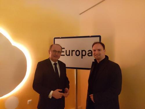 MEP Dr. Othmar Karas - Vizepräsident des Europäischen Parlaments