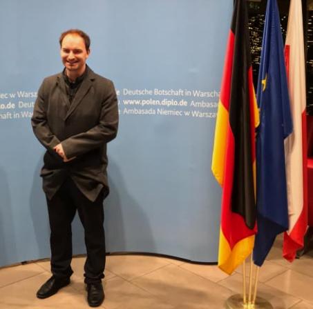 Termin in der Botschaft Deutschlands in Warschau