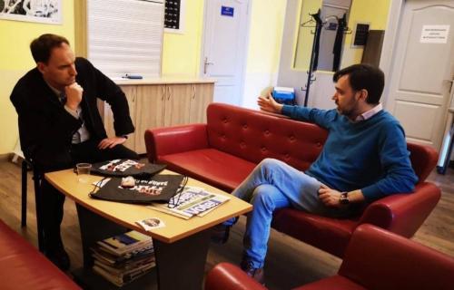 Yevhen Fedchenk - Director Mohyla School of Journalism
